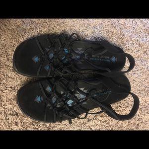 Skecher's memory foam sandals